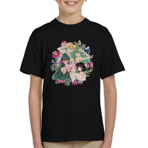 Outer Senshi Soldiers of the Outer Solar System Sailor Moon Kid's T-Shirt