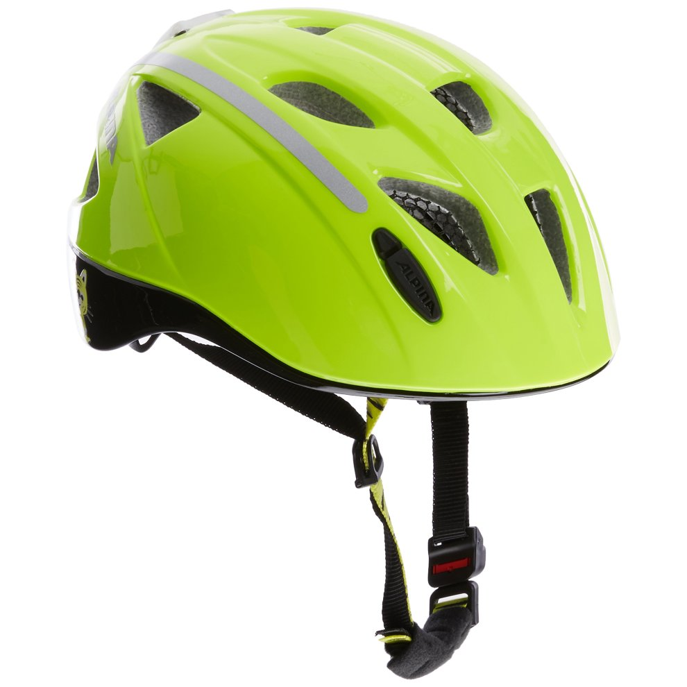 f1f5678930d ... Alpina Kids Cycling Helmet Ximo Flash Multi-Coloured Be Visible  Reflective Size:45- ...