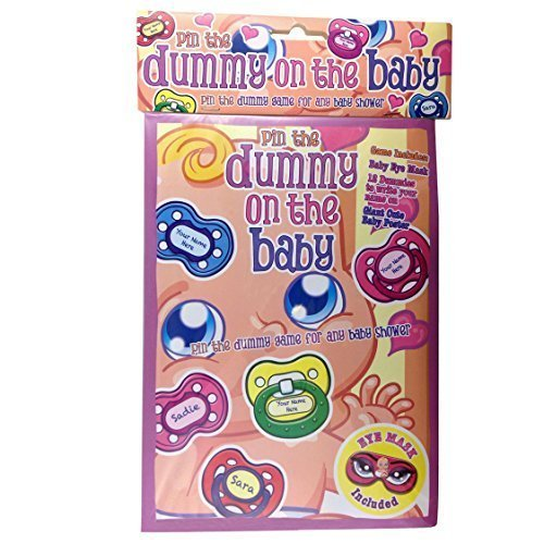 Alandra Baby Shower Dummy On The Baby Game - Party Pin 12 Unisex -  baby game shower dummy party pin 12 unisex