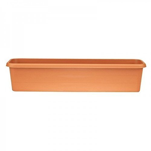 Stewart Terrace Trough, 40 cm - Terracotta
