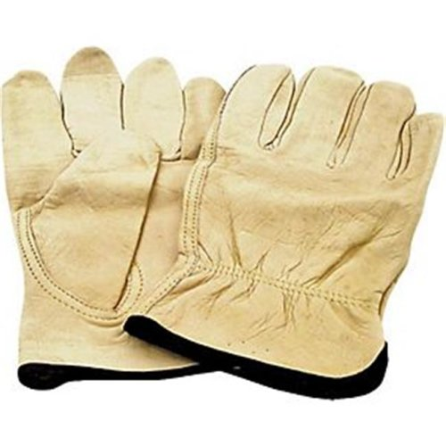 GV-DK603-B-L Driving Grain Leather Large Glove