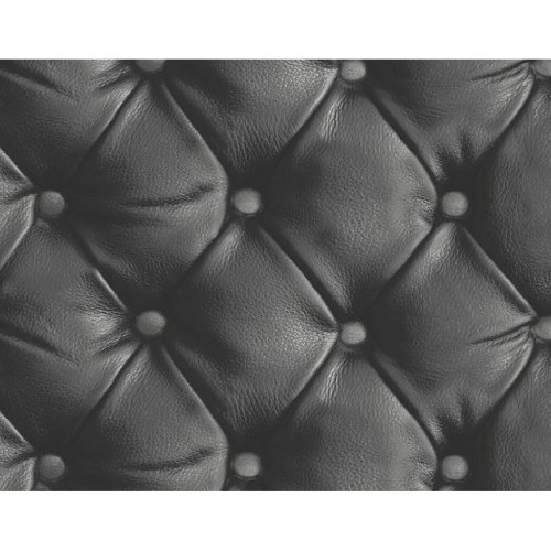 Arthouse Desire Geometric Heavy Weight Luxury Faux Leather 3D Effect Wallpaper 618100