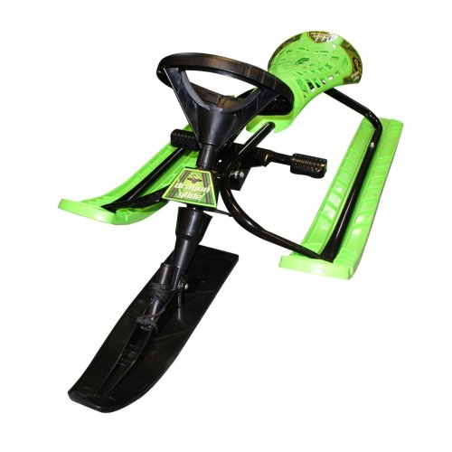 BoyzToys Dragon Glider Sledge | Kids' 3-Ski Sled