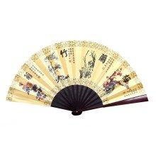 Chinese Traditional Folding Fan Hand Fan Handmade Bamboo Fan,S2