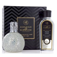 Ashleigh & Burwood Fragrance Oil Lamp Home Gift Set Diffuser The Pearl