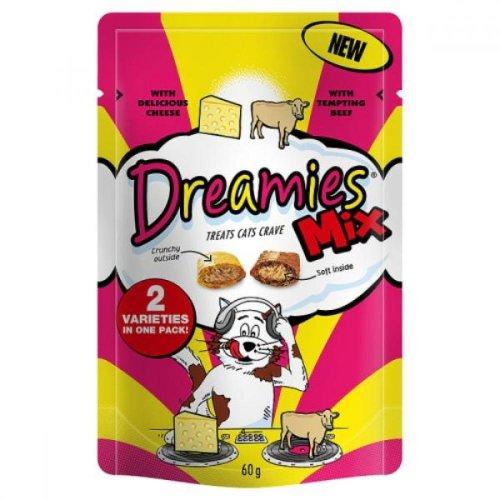 Dreamies Beef & Cheese Cat Food Treats (Pack Of 8)