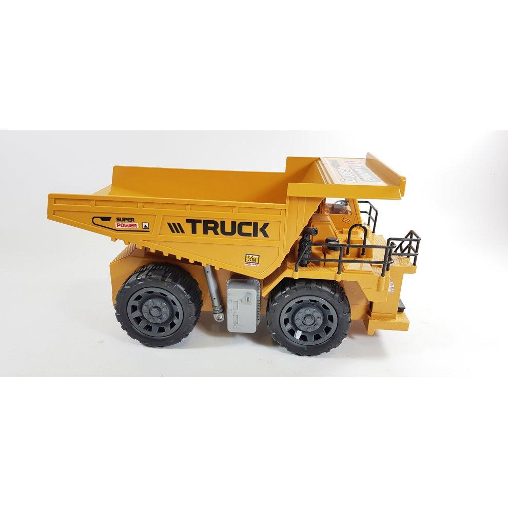 HUGE MONSTER Remote Control Heavy Machine - RC Dump Truck JCB Style