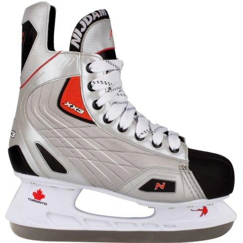 Nijdam Ice Hockey Skates Size 42 Polyester 3385-ZZR-42