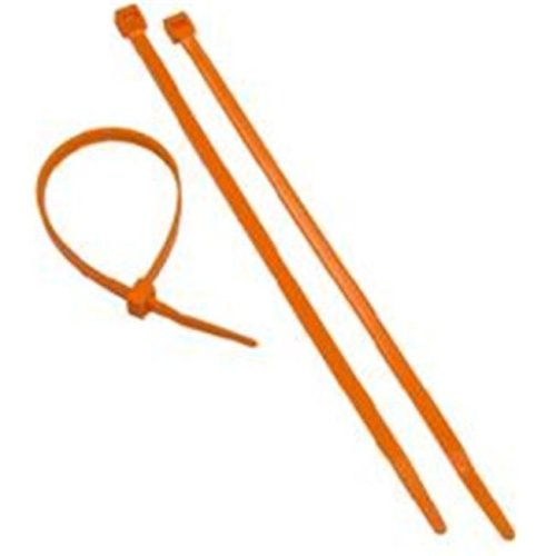 6a300a3994c0 Morris Products 20617 Orange Nylon Cable Ties 50Lb 8 In. Pack Of 100 on  OnBuy