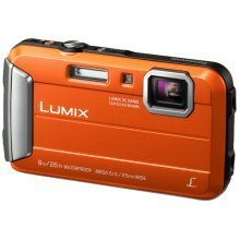 "Panasonic Lumix DMC-FT30 16.1MP 1/2.33"" CCD 4608 x 3456pixels Orange"