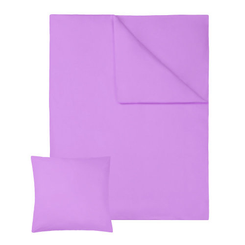 4 bedding sets 200x135cm cotton 2-piece purple