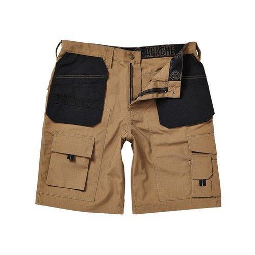 Apache APARIPSS30 Stone Rip-Stop Holster Shorts Waist 30in