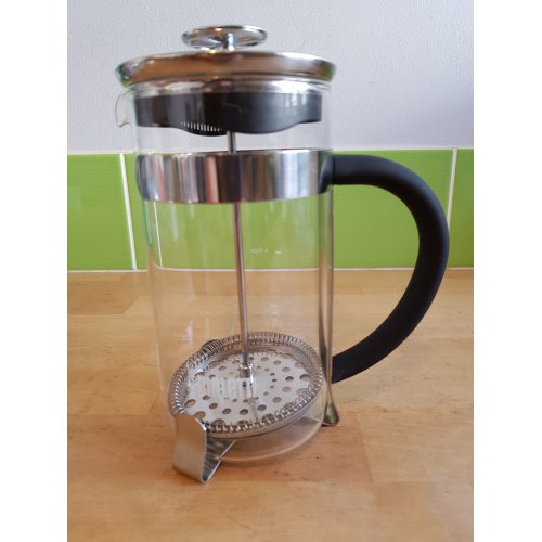 Bialetti Simplicity Frenchpress, Silver, 1 Litre 8 Cup