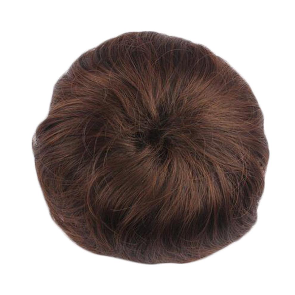 Womens Chignon Hair Piece Wig Hair Bun Extension Hair Donut Light