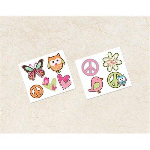 Amscan 392455 Diva Girl Tattoos - Pack of 48