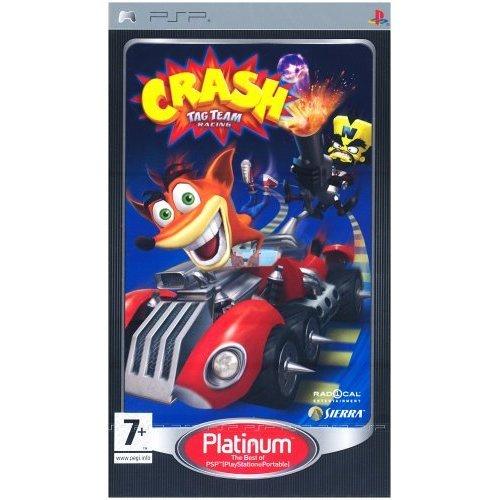 Crash Tag Team Racing - Crash Tag Team Racing (PSP - Platinum)