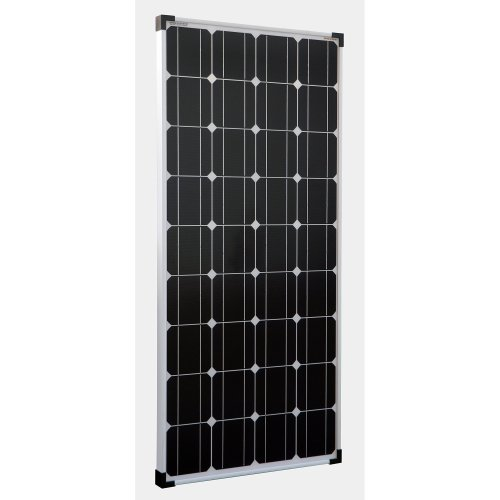 Enjoysolar® solar module mono, 100 W 12 V solar panel, ideal for camper, garden house, boat