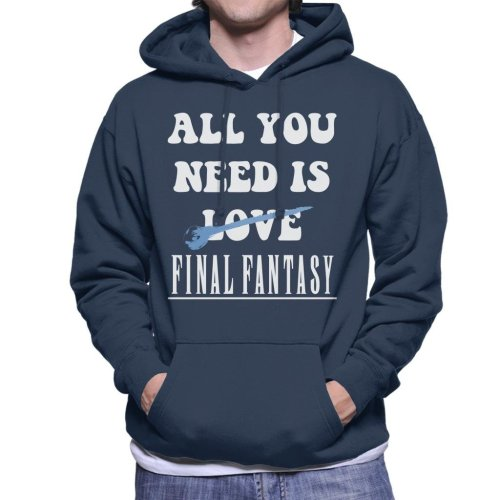 All You Need Is Final Fantasy Men's Hooded Sweatshirt