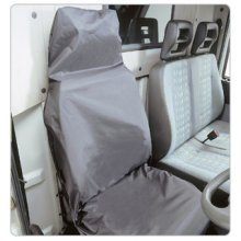 Extra Large Black Front Seat Protector - Universal Heavyweight Comfortable - Black Universal Extra Large Heavyweight Comfortable Seat Protector Sheet
