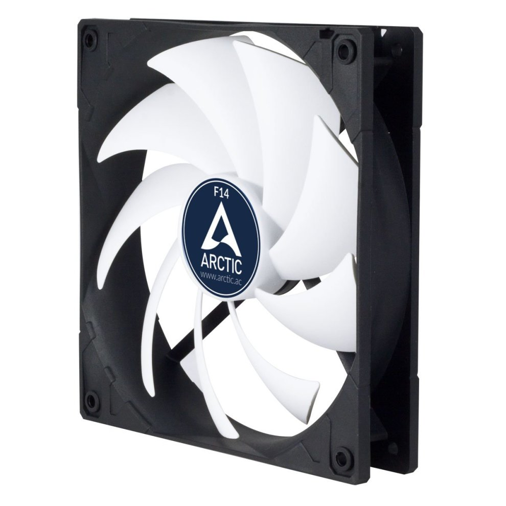 ARCTIC F14 -140 mm Standard Case Fan | Ultra Low Noise Cooler | Silent  Cooler with Standard Case | Push- or Pull Configuration Possible