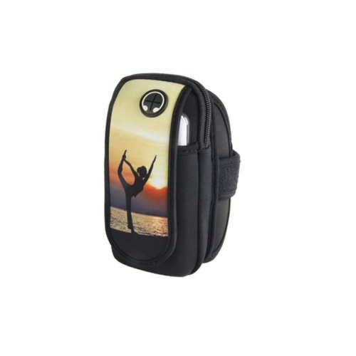 Men/Women Fitness Wrist Bag Running Traveling Hiking Mobile Phone Arm Pack_A3