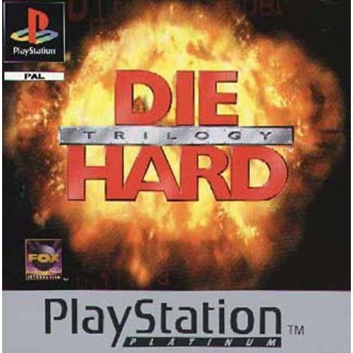 Sony Playstation - Die Hard Trilogy (Platinum)