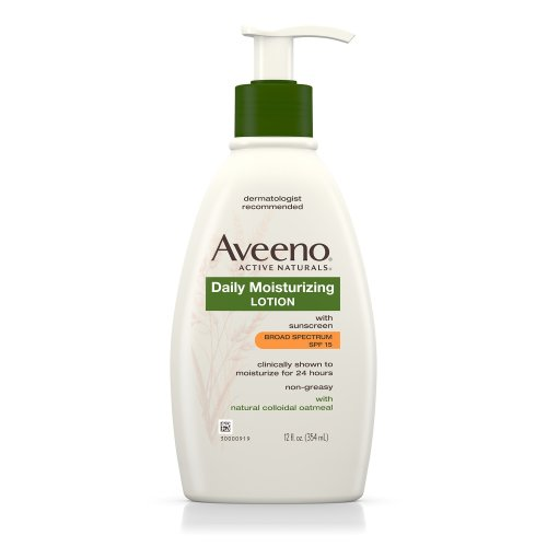 Aveeno Active Naturals Daily Moisturizing Lotion with SPF-15 355 ml