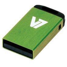 V7 Nano Usb 2.0 Flash Drive 16gb Green Usb Flash Drive