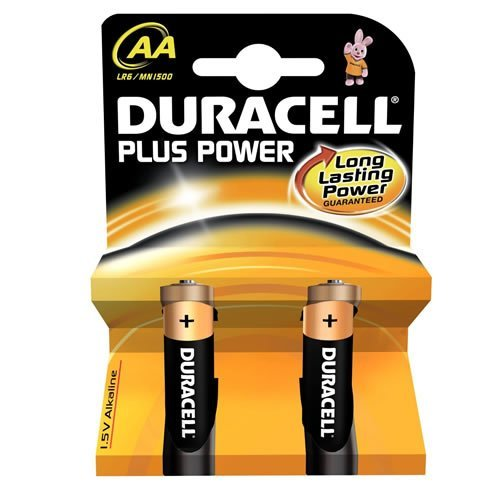 Duracell Duracell Plus Alkaline Battery AA Size - Pack of 20 (MN1500-B2)