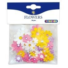 Pbx2470094 - Playbox - Flowers (self -adhesive) - 36 Pcs