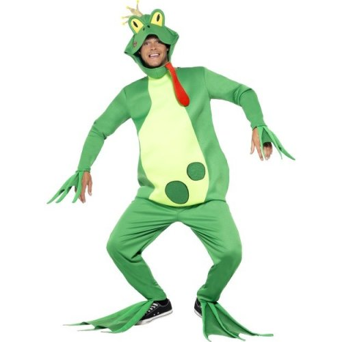 Smiffy's Adult Frog Prince Costume -  frog prince costume fancy dress outfit charming mens adult fairytale book week toad