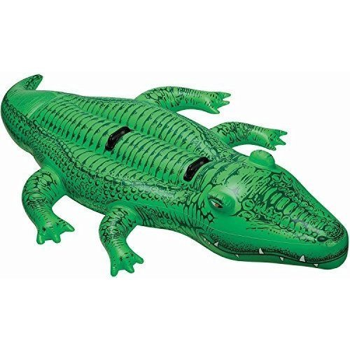 Intex Giant Gator Rideon 80 X 45 For Ages 3 By Intex Recreation Corp