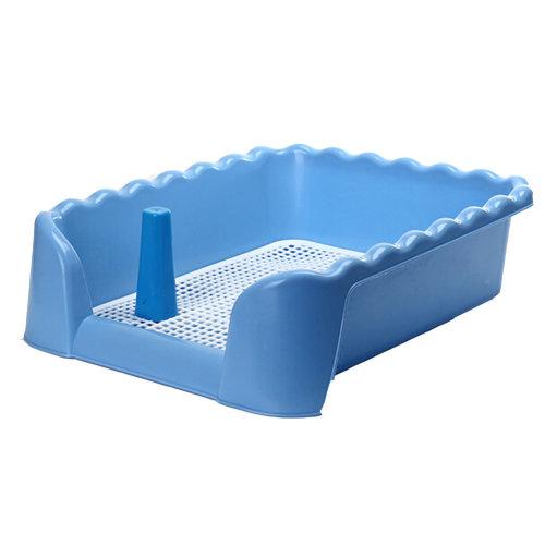 "Fashionable Pet Supplies & Indoor Pet Fence Potty Dog Toilet (17""*17""*6""),BLUE"