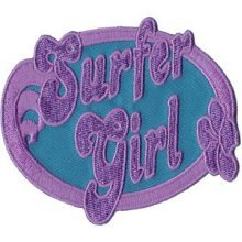 Application Surfer Girl Patch