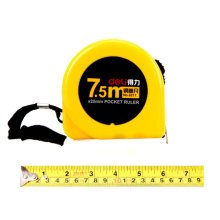 Tape Measure with End Hook, Metric Inch Dual System,7.5m/24 Ft