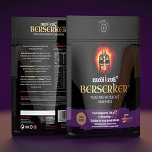 Medi-evil 20% off Berserker Wild Berry 300g
