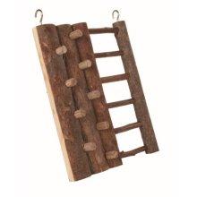 Trixie Natural Living Climbing Wall, 20 x 16cm - Wall Hamster Ladder 16cm Toy -  climbing wall natural trixie living hamster ladder 20 16 cm toy