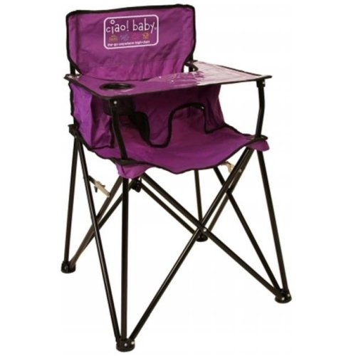 Jamberly Group HB2012 ciao baby portable highchair - Purple