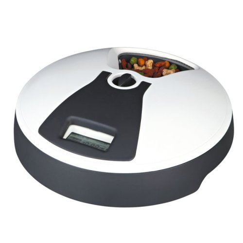 Automatic Dog Feeder Dry Wet Food Timer Easy-To-Clean