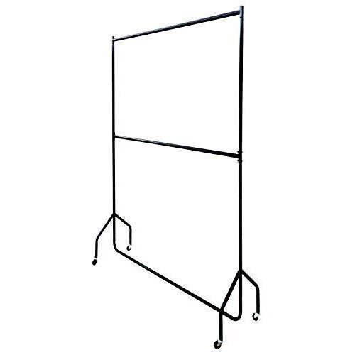 Two Tier Heavy Duty Clothes Rail 7ft x 4ft