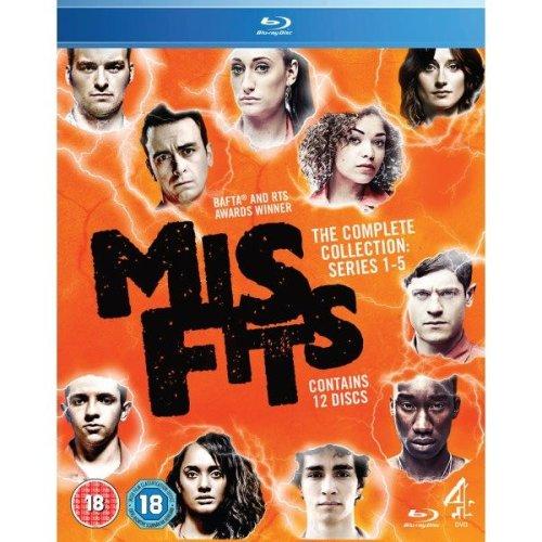Misfits - Series 1-5
