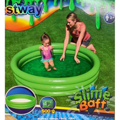 Bestway 1.52m Childs Swim Slime Play Water Paddling Pool Outdoor