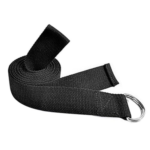 Durable Stretching Band Yoga Strap Exercise Band Fitness Equipment,BLACK