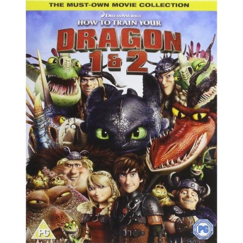 How to Train Your Dragon / How to Train Your Dragon 2 (includes Ultraviolet Copy)