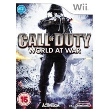 Call of Duty World at War Nintendo Wii Game