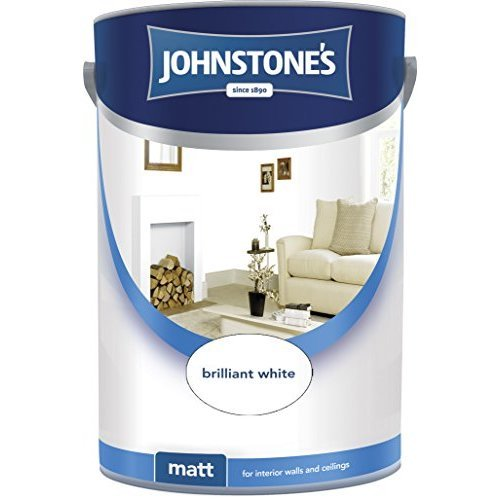 Johnstones Matt Emulsion - Brilliant White