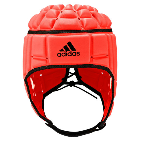 adidas Rugby League Union Headguard Scrum Cap Head Protection Red