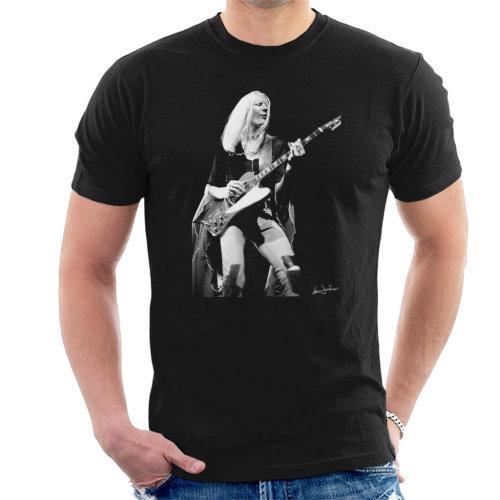 Ian Dickson Official Photography - Johnny Winter Gibson Firebird 1974 Men's T-Shirt