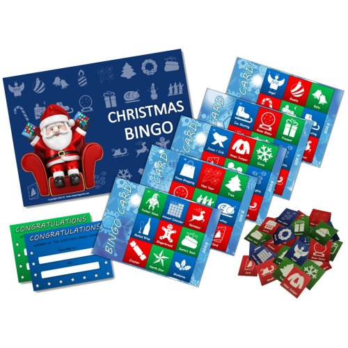 Christmas Themed Bingo | Christmas Game