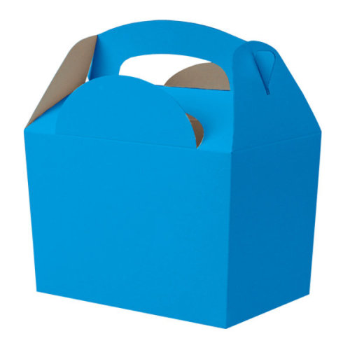 Colpac 10 Pack Party Boxes - Bright Blue -  colpac 10 pack party boxes bright blue